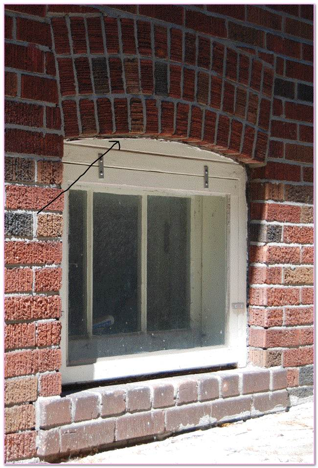 Masonry Lintel Repair Above Window