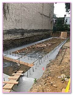 Concrete Slab Masonry Bearing Wall