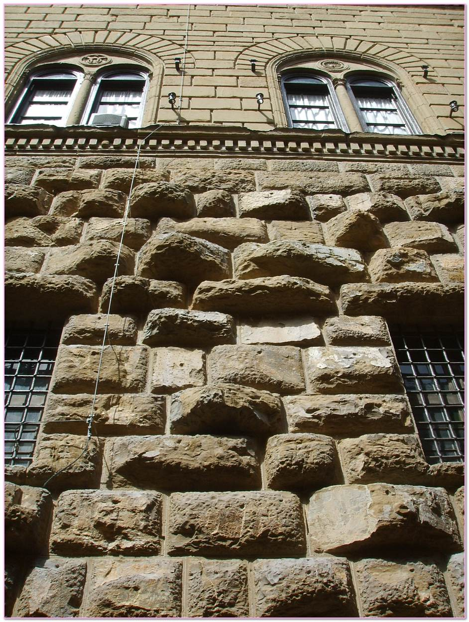 Rusticated Masonry Definition