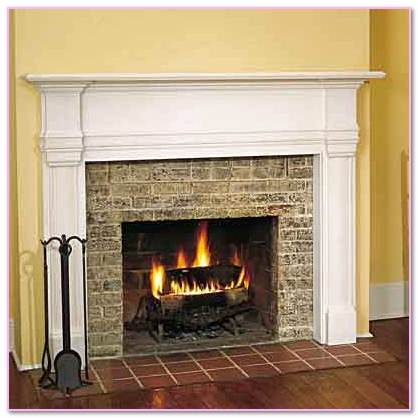 How To Extend Mantel. Replace Masonry Chimney