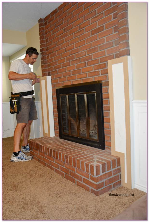 How To Extend Masonry Mantel