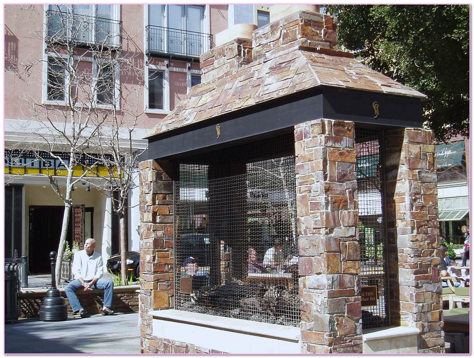 Free Standing Masonry Fireplaces Outdoor