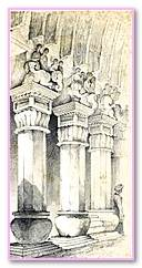Two Great  In The Three Pillars Freemasonry. Solution Masonic Lodge Freemasonry