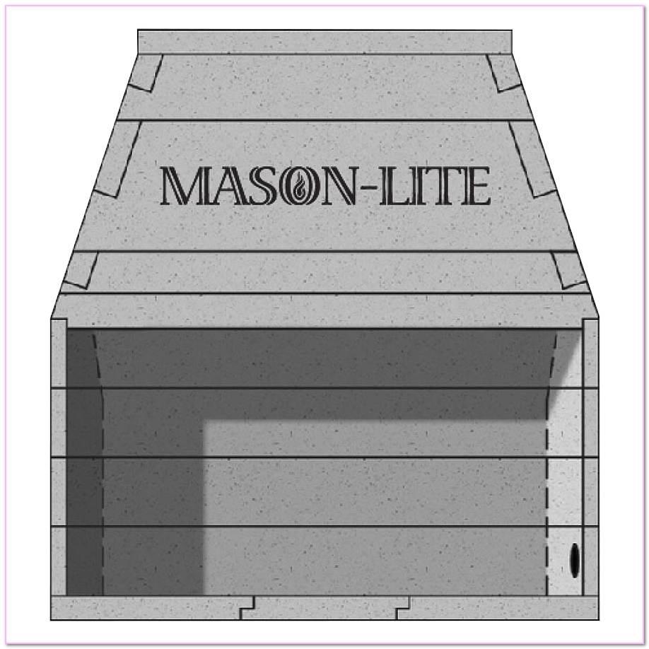 Precast Masonry Firebox