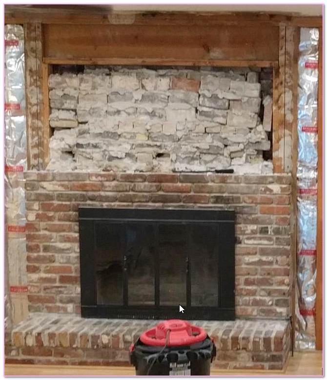 How To Remove Masonry Fireplace Door