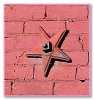 Stars Independence Antique Brick. Corner