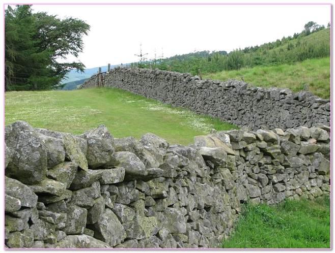Dry Stone Flagstaff. Fence