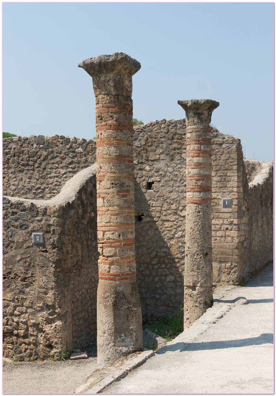 Stone Masonry Pillars