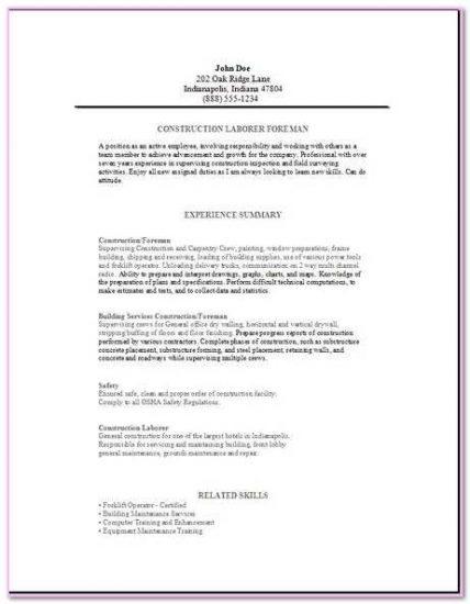 Resume Examples And Samples Stonemason Description Duties Responsibilities