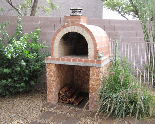 Traditional Brick Oven Ideas Lat Works Construction Inc